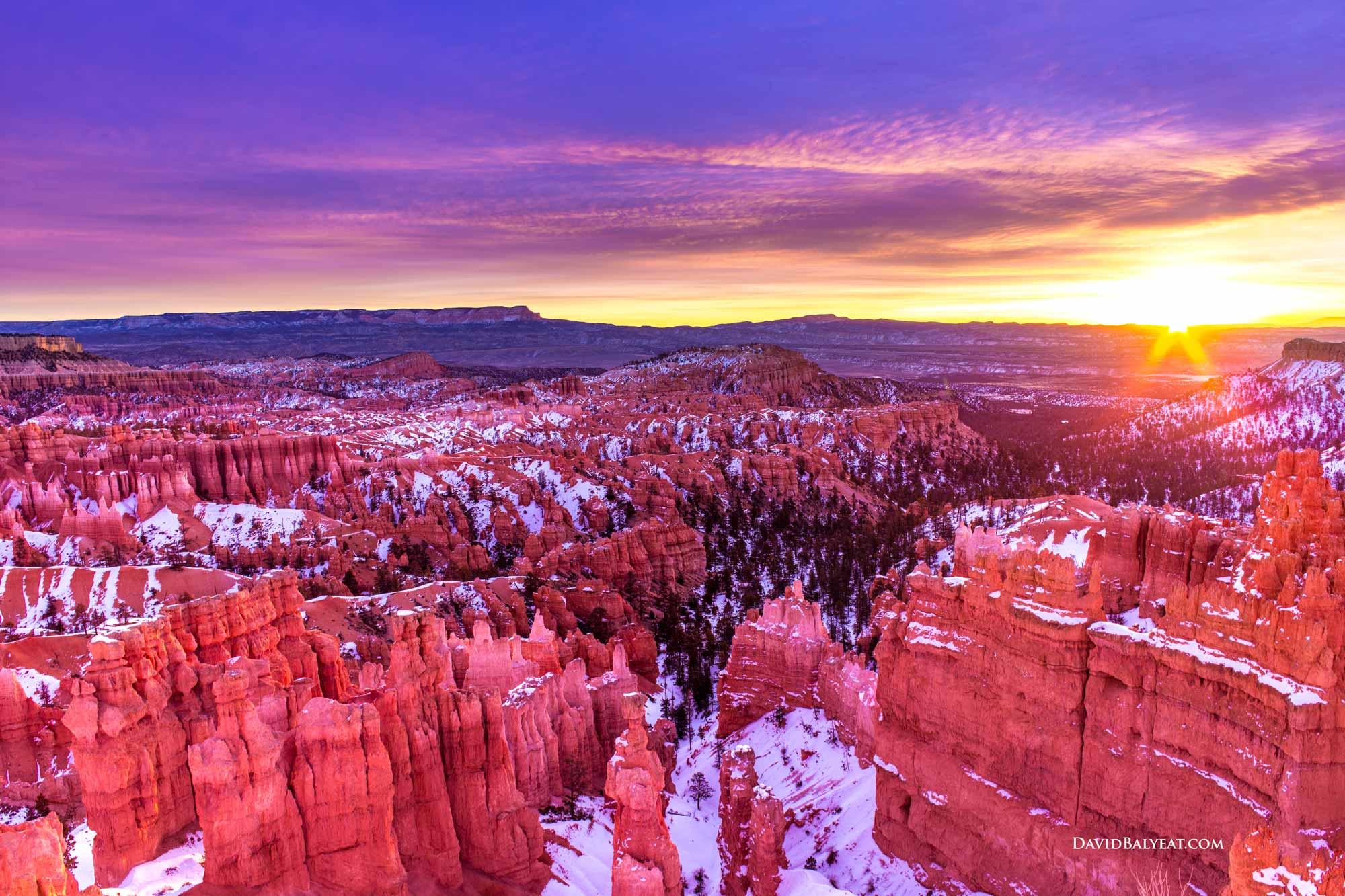 Bryce Canyon Sunrise David Balyeat Photography Portfolio