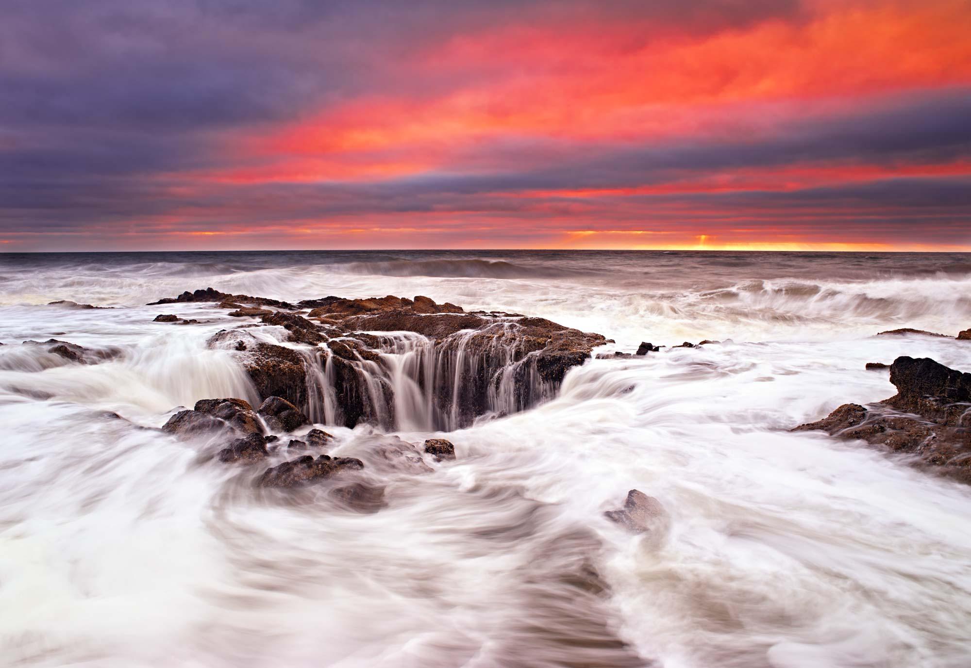 Enigma, Sunset at the Oregon Coast
