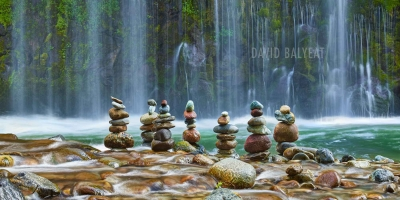 Meditation Zen Cairns Waterfalls high definition HD professional landscape photography