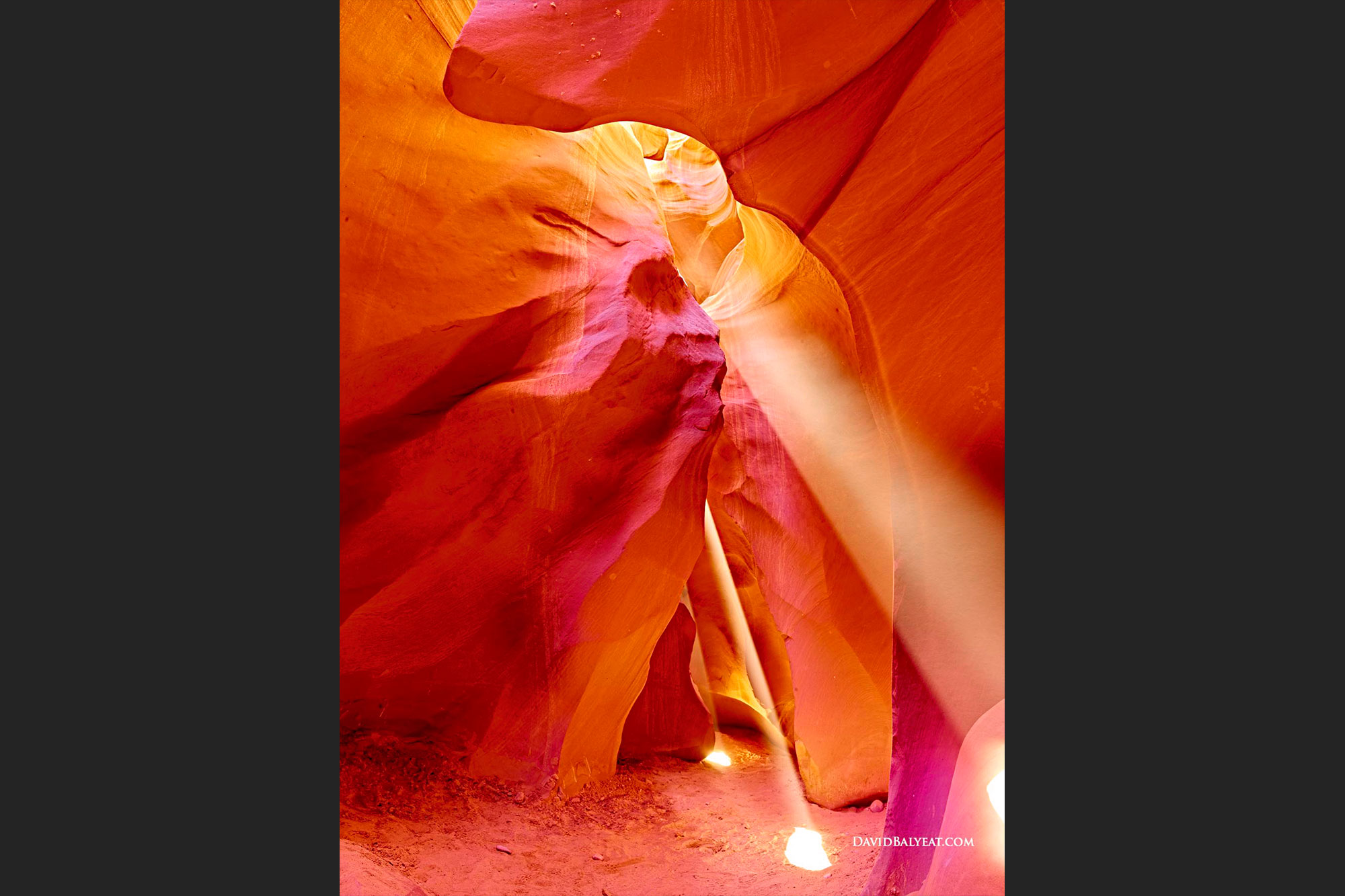 Antelope Canyon Arizona Navajo Warrior in profile high definition HD professional photography