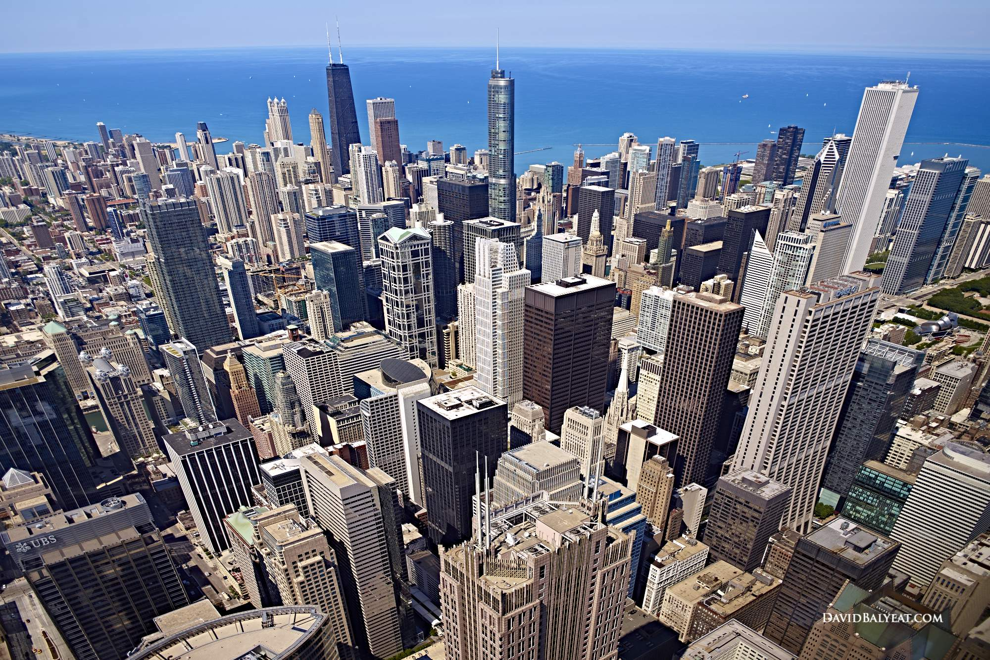 Chicago skyline SkyDeck Lake Michigan high-definition HD professional landscape photography