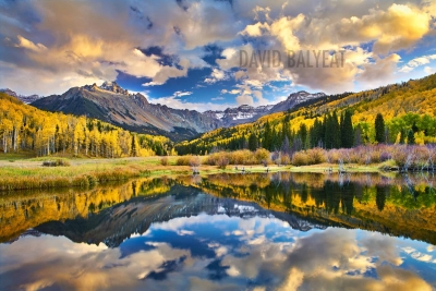 Colorado autumn reflections san juan mountains fall foliage high definition hd professional landscape photography