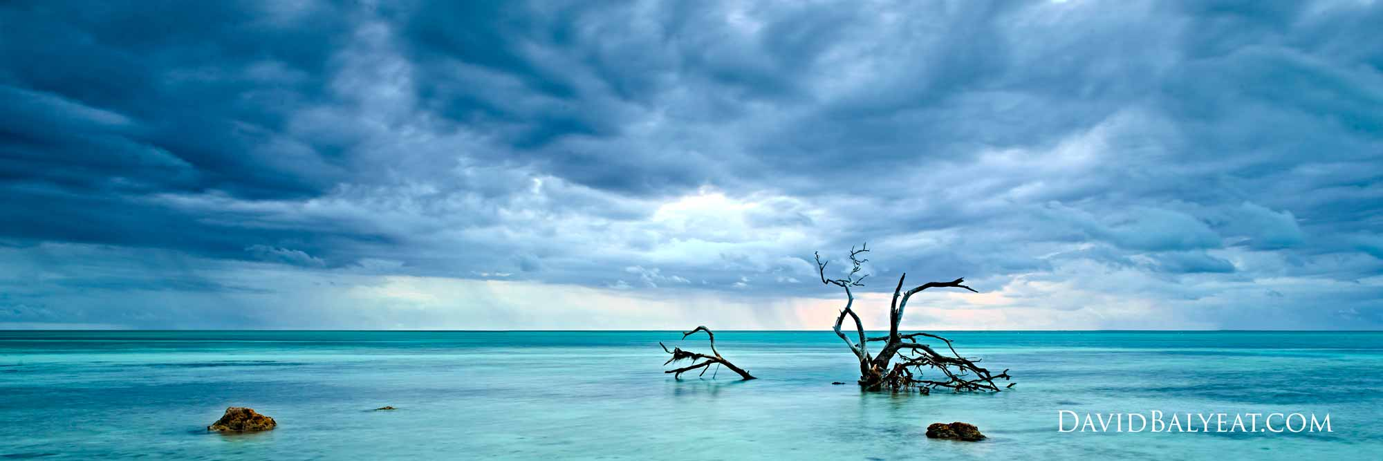 Florida Keys stormy sunrise panoramic high definition HD professional landscape photography