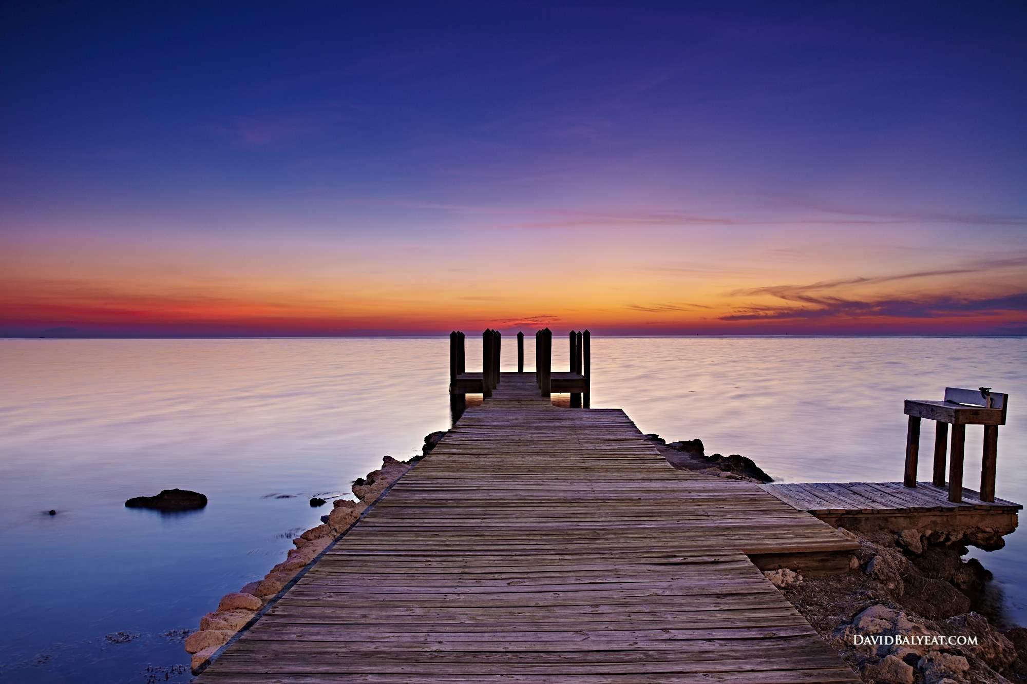Florida Keys sunset jetty infinity high-defintion HD professional photography