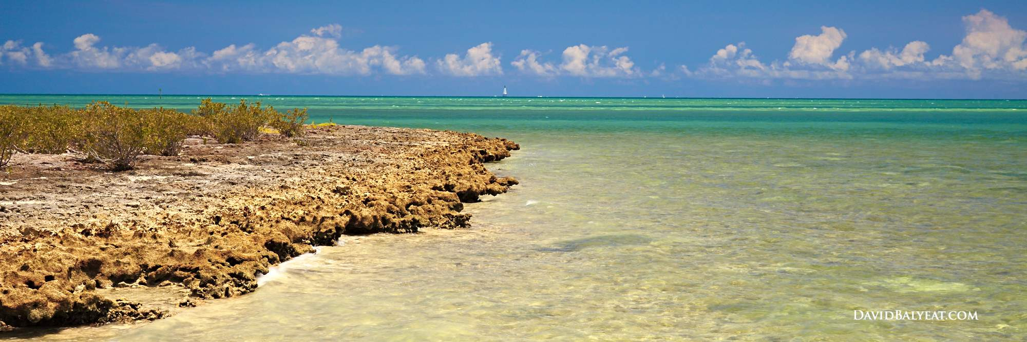 Florida Keys crystal clear waters Indian Key Historic State Park high definition HD photography