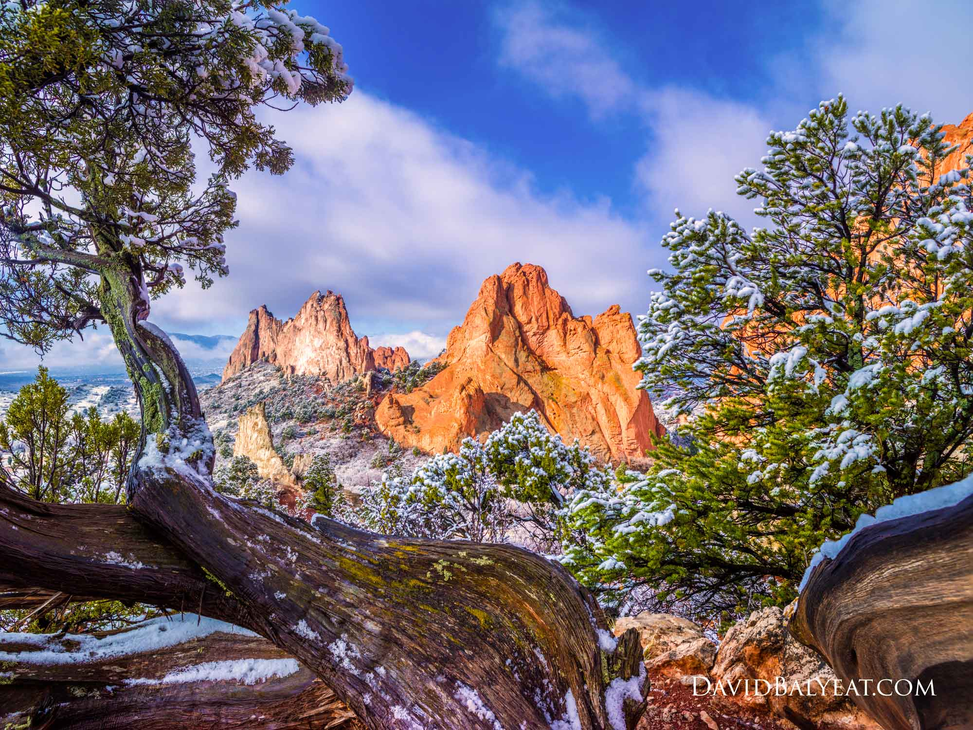 Garden of the gods david balyeat photography portfolio for Professional landscape