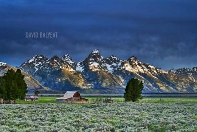 Grand Teton National Park Moulton Barn sunrise high-definition HD professional landscape photography