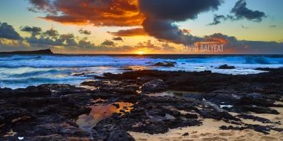 Hawaii Makapu'u Beach sunrise Oahu ocean high-definition HD professional landscape photography