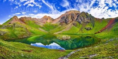 Island Lake San Juan Mountains Colorado High-Definition HD professional landscape photography