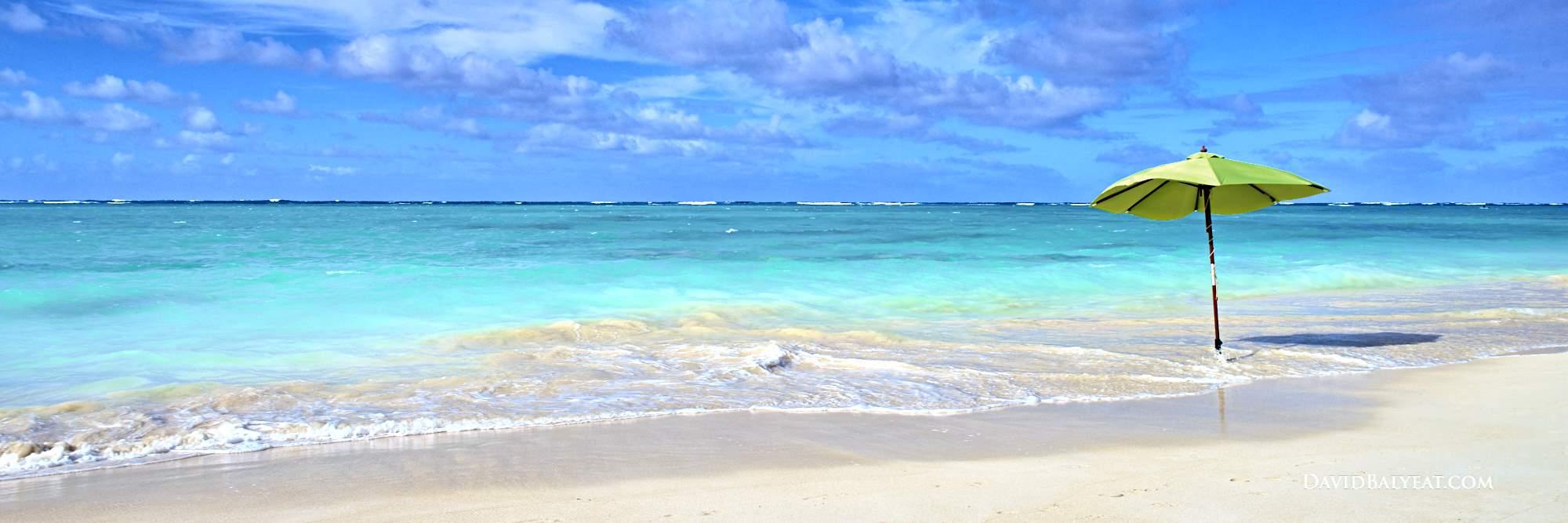 Lanikai Beach panoramic Hawaii Oahu high-definition HD professional photography