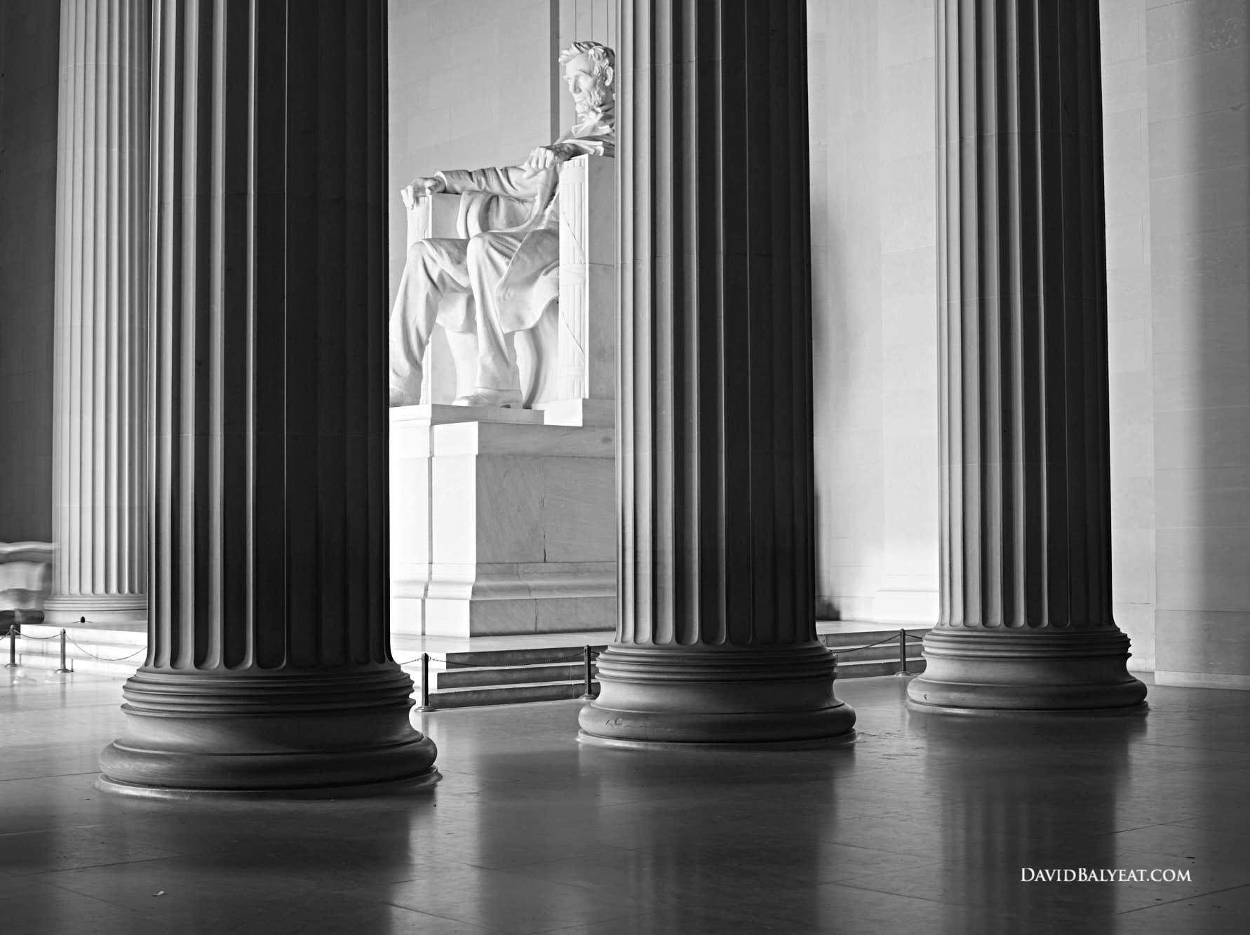 Lincoln Memorial Washington D.C. high-definition HD professional landscape photography