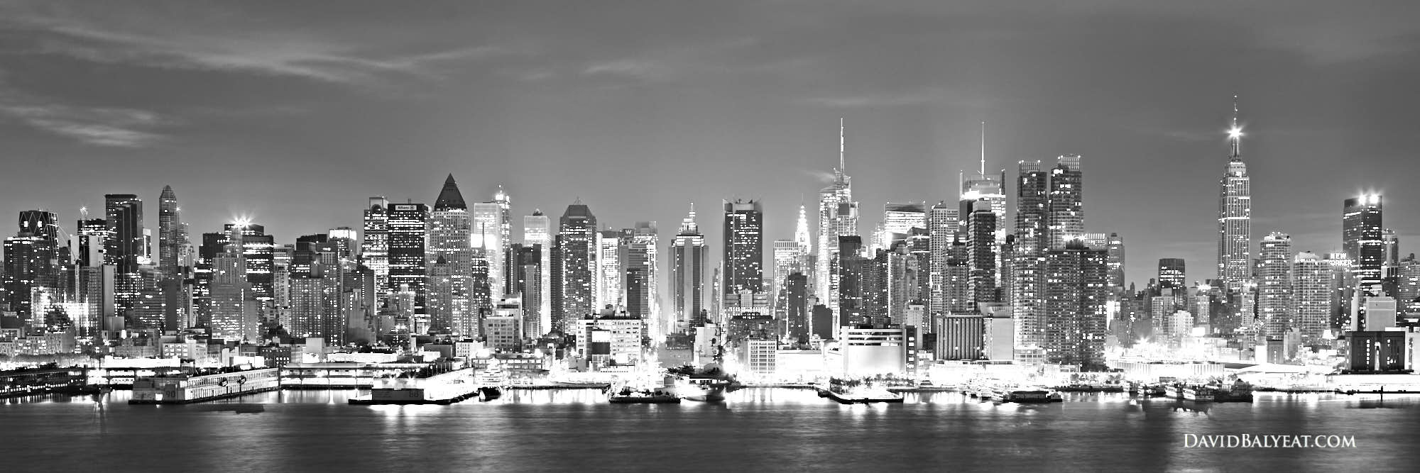 city skyline black and white - photo #44