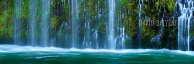 Mossbrae Falls Northern California waterfalls