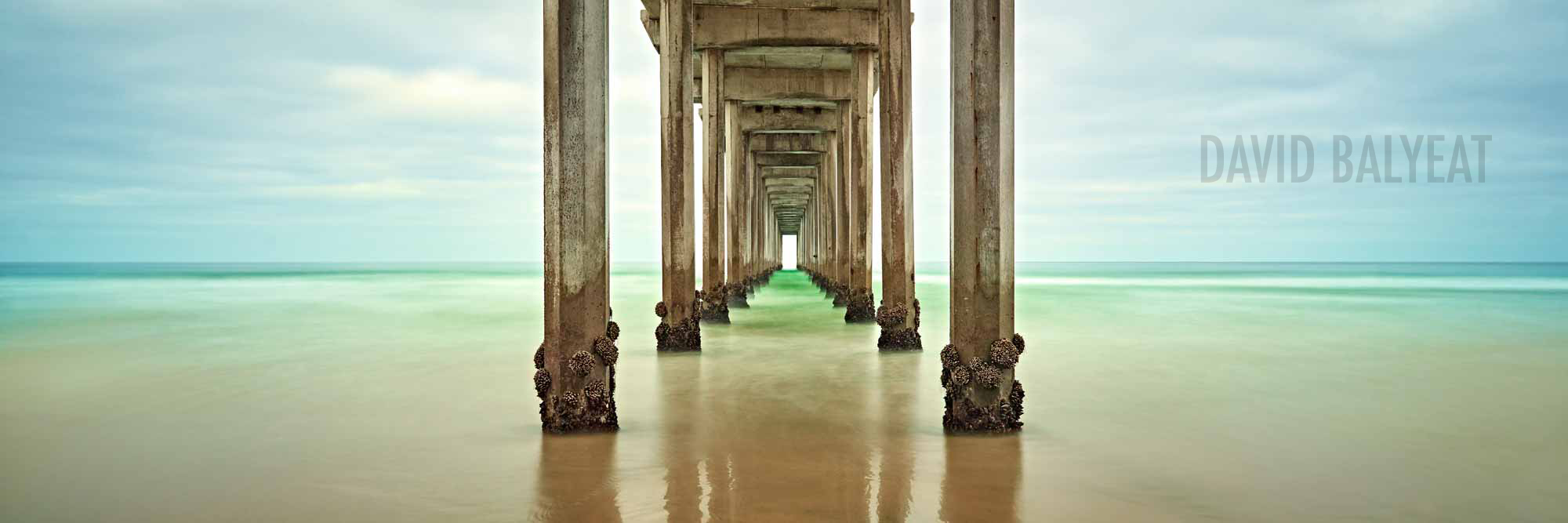 Scripps Pier La Jolla California panoramic high-definition HD professional landscape photography