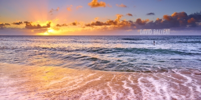 Sunset Beach Oahu Hawaii surfer high-definition HD professional landscape photography