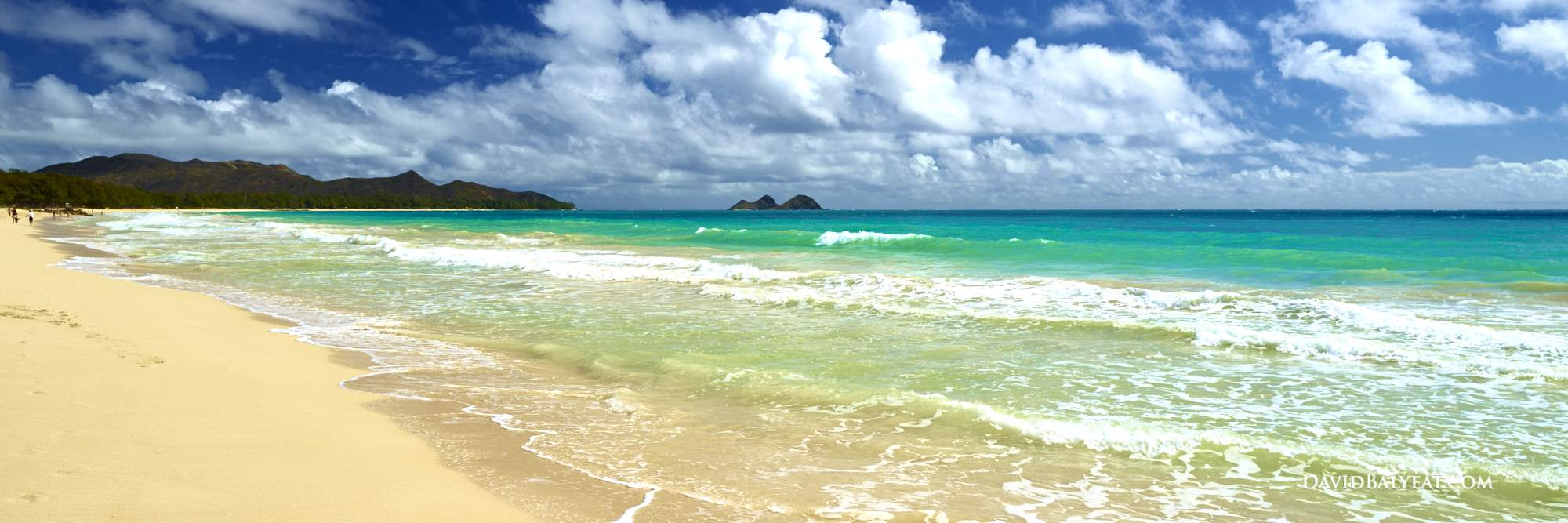 Waimanalo Beach Park Oahu Hawaii Panoramic High Definition HD Professional Landscape Photography