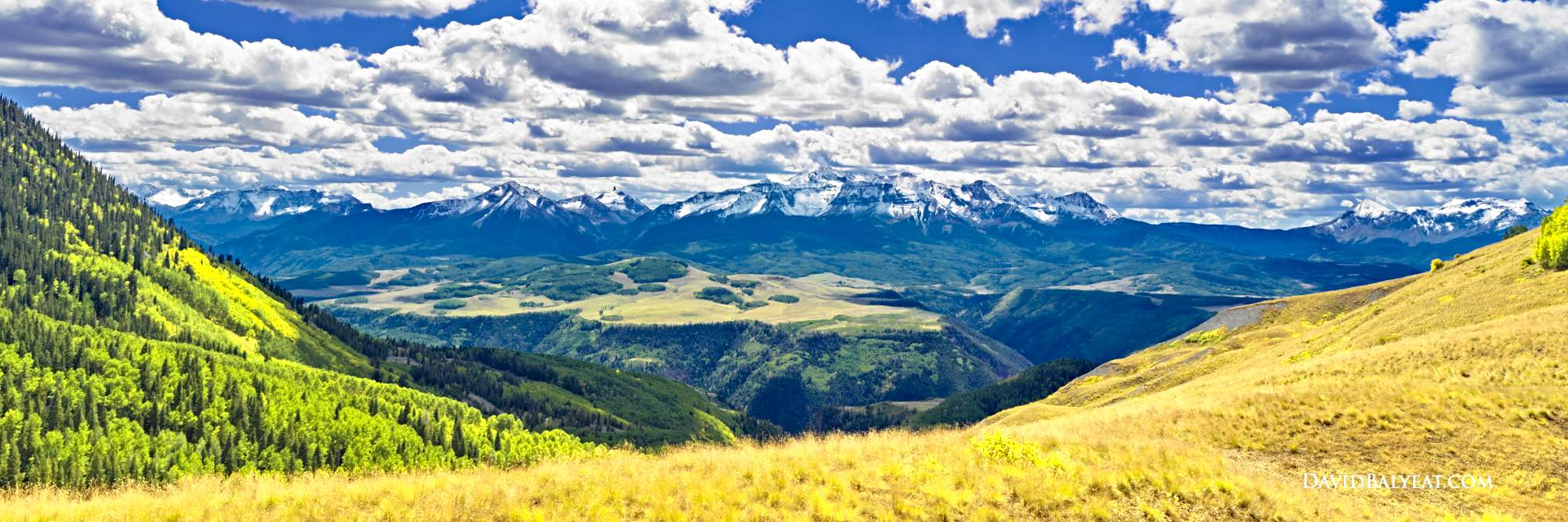 Wilson Peak Colorado panoramic high definition HD photography